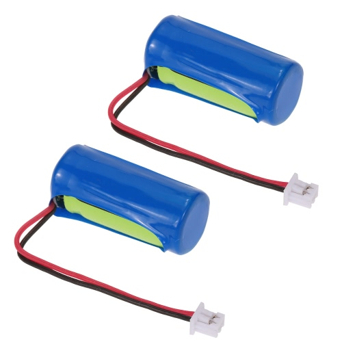 2Pcs 3.7V 90mAh Li-Po Battery Spare Part for CRAZON 1/32 Mini Pocket RC Racing Car от Tomtop.com INT