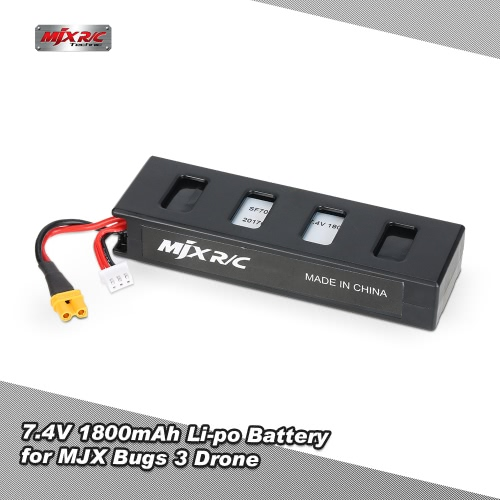 MJX 7.4V 1800mAh Li-po Battery for MJX Bugs 3 RC Drone Quadcopter