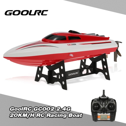 GoolRC GC002 2.4G Remote Controll 180° Flip 20KM/H High Speed Electric RC Racing Boat