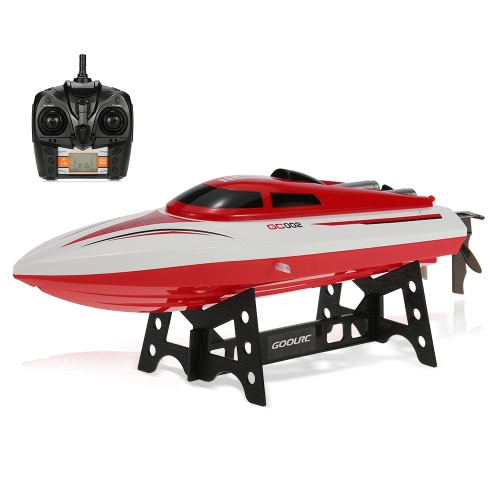 GoolRC GC002 2.4G Télécommande 180 ° Flip 20KM / H High Speed ​​RC Racing Boat