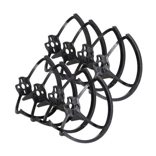 8pcs Propeller Guard Ring Protector with Landing Gear 2 in 1 for 1103 1105 Motor GoolRC G90 Pro 70-100mm Micro Racing Drone