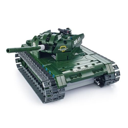 453Pcs Utoghter 69001 2.4G RC Battle Tank Building Blocks Kits Toy Bricks Car Model DIY Toys