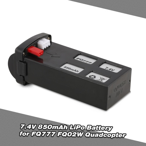 FQ777 7.4V 850mAh LiPo Battery for FQ02W Utoghter 69508 FPV Quadcopter