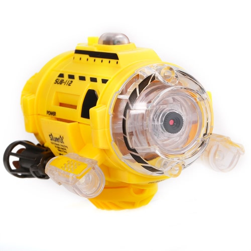 Infrared Control SpyCam Aqua RC Submarine with 0.3MP Camera and Light RC Toy for Kids