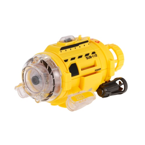 Controle Infravermelho SpyCam Aqua RC Submarine com 0.3MP Câmera e Light RC Toy for Kids