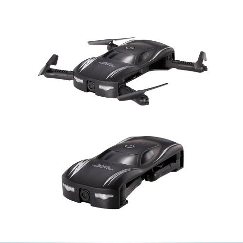 X185 0.3MP Caméra Wifi FPV Pliable Poche Drone Altitude Tenir Contrôle G-sensor App Contrôle Selfie Quadcopter