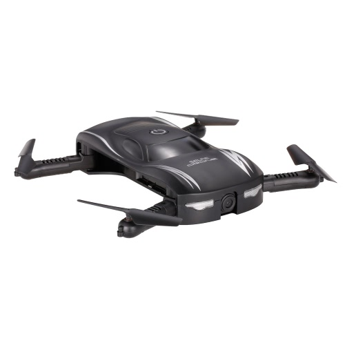 X185 0.3MPカメラWifi FPV折りたたみ式ポケットドローン高度保留音声制御GセンサーApp Control Selfie Quadcopter