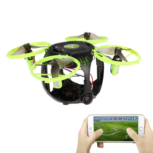 FQ777 FQ26 Miracle 0.3MP Camera WiFi FPV Mini Drone Altitude Hold G-sensor Foldable RC Quadcopter APP Control RTF