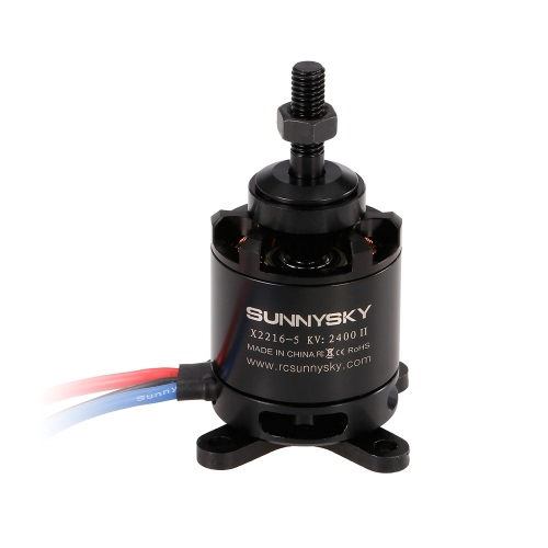 SUNNYSKY X2216 2400KV II 3-4S Brushless Motor for RC Airplane Fixed-wing Aircraft