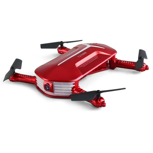 GoolRC T37 Mini 6-Axis Gyro WIFI FPV 720P HD Camera Quadcopter Foldable G-sensor RC Selfie Pocket Drone