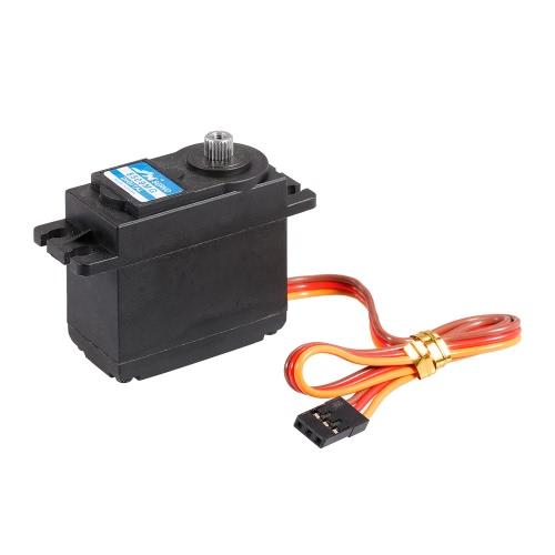 JX PDI-5509MG 4,8V-6V 0,13sec / 60 ° 9,35kg Custodia in alluminio per cambio elettronico per 1/10 1/8 RC