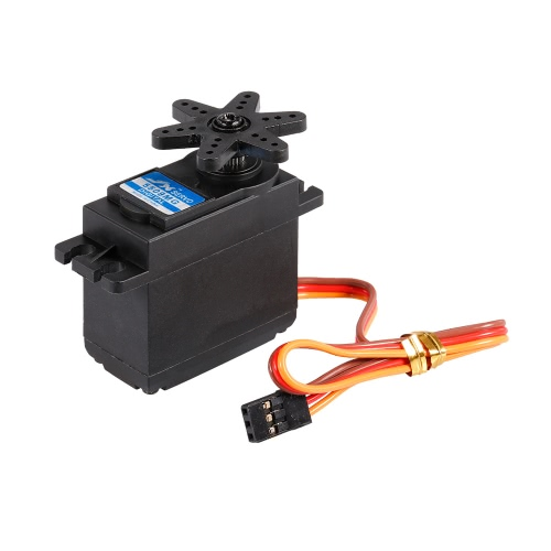 JX PDI-5509MG 4.8V-6V 0.13sec/60° 9.35kg Digital Metal Gear Servo Aluminums Case for 1/10 1/8 RC car