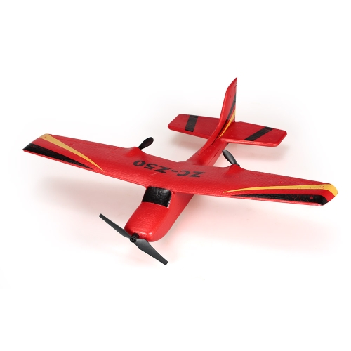 ZHI CHENG TOYS Z50 2.4G 2CH Remote Control Glider 350mm Wingspan EPP Micro Indoor RC Airplane Aircraft with Gyro RTF Image