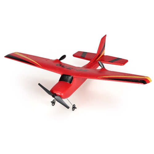 ZHI CHENG TOYS Z50 2.4G 2CH Controle Remoto Glider 350mm Wingspan EPP Micro Indoor RC Airplane Aircraft with Gyro RTF
