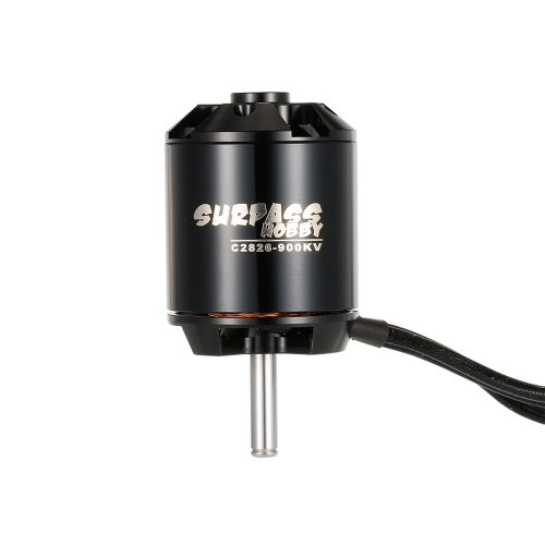 SURPASS HOBBY 2826 900KV 14 Poles Brushless Motor & 40A ESC 2-4S for RC Airplane Fixed-wing Glider Warbirds