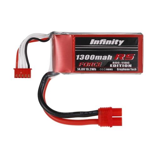 Unendlichkeit 4 S 14,8 V 1300 mAh 80C-110C LiPo Batterie SY60 für XT60 Stecker 250 280 Racing Drone RC Auto Boot