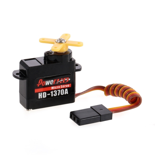 Power HD HD-1370A Analog Micro Servo para Mini EPP Airplane RC Aircraft