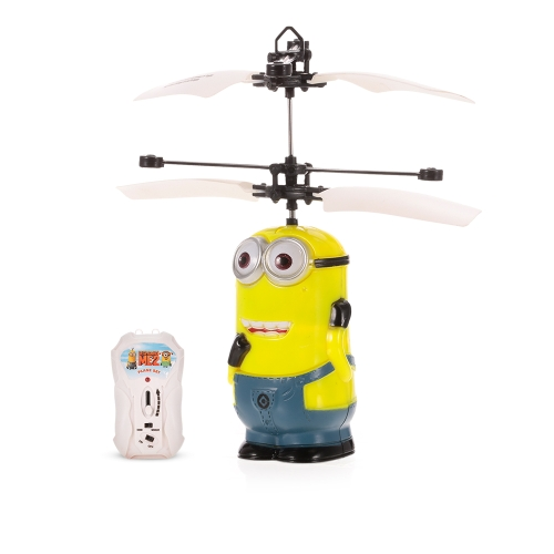 SJ880 Minions Figure Infrared Controlled Hand Sense Control RC Quadcopter RC Toy