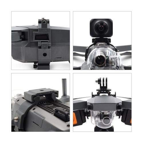 Supporto per videocamera multifunzione STRATRC Set Supporto per videocamera Gopro per DJI Mavic Pro Platinum