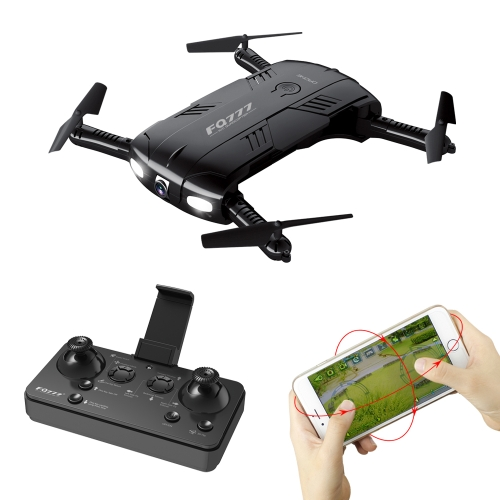 FQ777 FQ05 2.4G 4CH 2.0MP HD Camera WiFi FPV RC Foldable Quadcopter Selfie Drone RTF