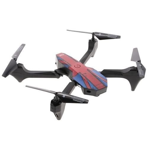 MOLD-KING MK-59 2.0MP камера Складная Wifi FPV 6-осевая гироскопия Высота над головой Безголовочный RC Quadcopter Drone