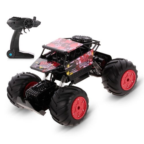 HAOJUN 8811-1 1/12 2.4G 4WD Anfibio 20KM / h High Speed Karting Rock Crawler RC Auto