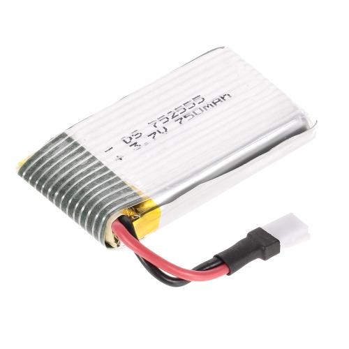 3.7V 750mAh Lipo Battery for DM106 SG600 RC Quadcopter WiFi FPV Drone