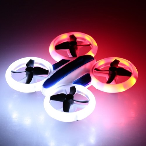 JXD 532 Altitude Hold Mini Neon Night Drone Colorful LED Light RC Quadcopter