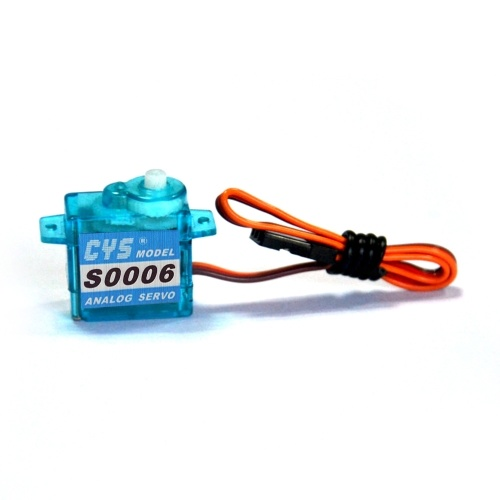 CYS-S0006 Mini Analog Servo for Tiny Whoop RC Car Boat Airplane Helicopter RC Toys