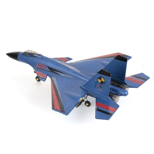 FX-861 2.4G 2CH 480 мм Wingspan Remote Control Fighter Исправлено крыло с легким EPP RC Самолет Самолет RTF