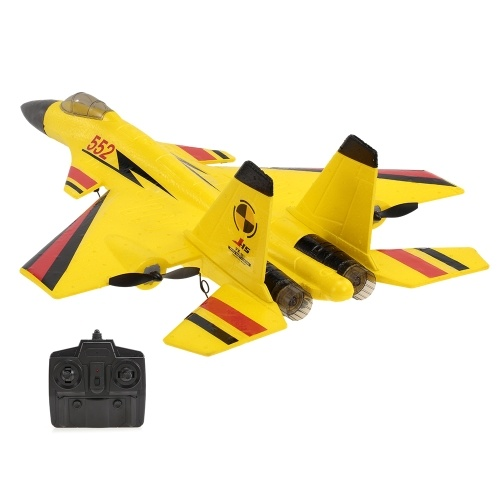 FX-861 2.4G 2CH 480mm Envergure À Distance Fighter Aile Fixe avec Lumière EPP RC Avion Avion RTF