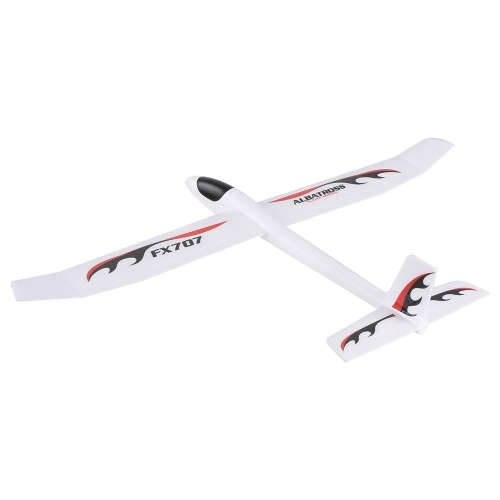 FX-707 1210mm Wingspan Hand Throwing Glider Fixed Wing RC Racing Airplane Outdoor Aircraft DIY