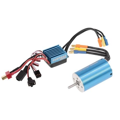 SURPASS HOBBY 2845 3930KV Sensorless Brushless Motor und 35A Brushless ESC für 1/18 1/16 RC Car