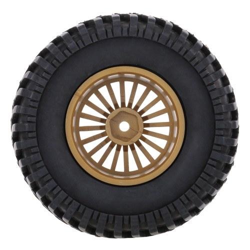 4pcs 1/10 RC buggy pneu 20 rayons Rim pour 1/10 HSP Redcat Traxxas axiale SCX10 RC4WD D90 CC01 RC Rock Crawler