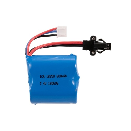 Batería del Li-ion de 7.4V 600mAh para el barco de RC eléctrico de Skytech H100 2.4G
