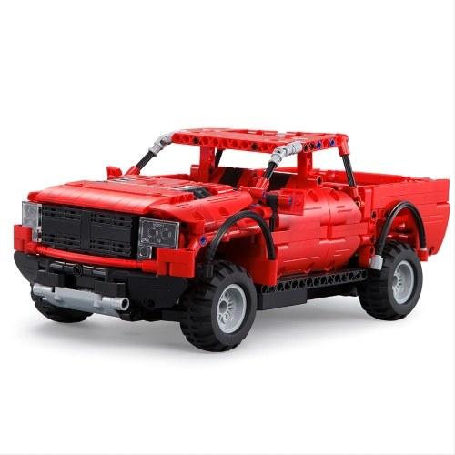 DOUBLE E C51005 549pcs Building Blocks Bricks RC Pick up Truck Car DIY Kits