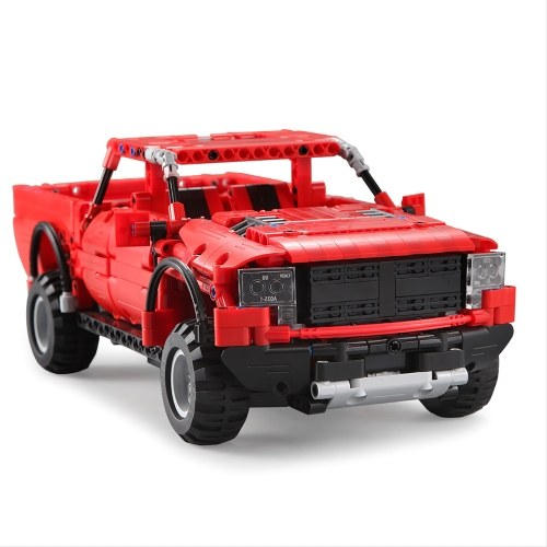 DOUBLE E C51005 549pcs Blocs de Construction Briques RC Pick-up Car Truck Kits DIY