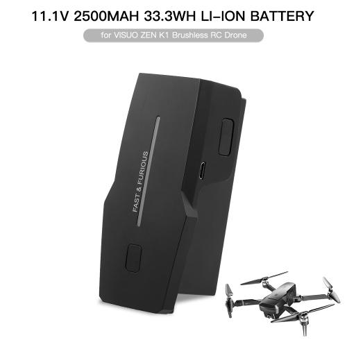 11.1V 2500mAh Battery for VISUO ZEN K1 Brushless RC Drone