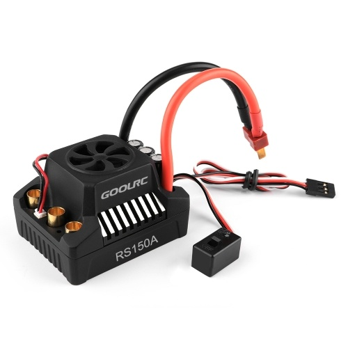 GoolRC 150A Brushless ESC Electric Speed Controller 6.0V/8.4V/5A BEC for 1/8 1/10 RC Truck Off-road Car
