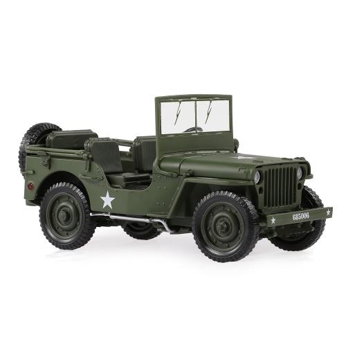 685006 1/18 Carro Militar Jeep Toy Carro Táticas Militares