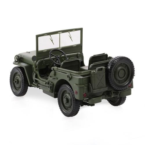 685006 1/18 Military Jeep Toy Car Military Tactics Car