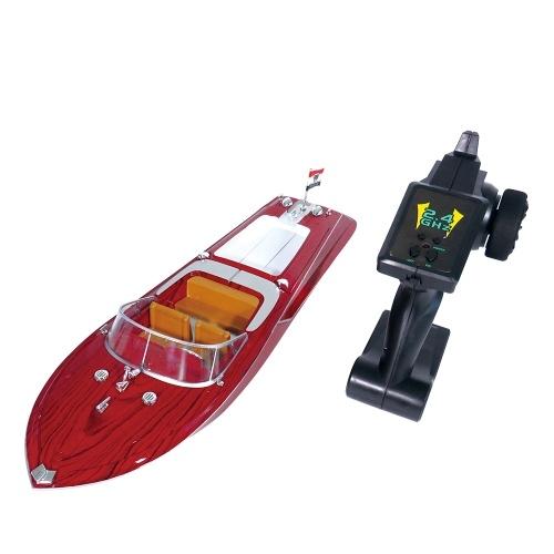 Flytec V001 2.4G 25km/h High Speed RC Boat Remote Control Racing Speedboat