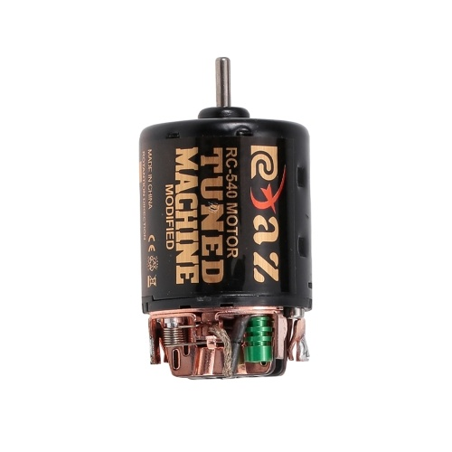 540 55T Brushed Motor mit 60A ESC BEC Combo für 1/10 Traxxas Hsp Redcat RC4WD Tamiya Axial scx10 D90 HPI Rock Crawler