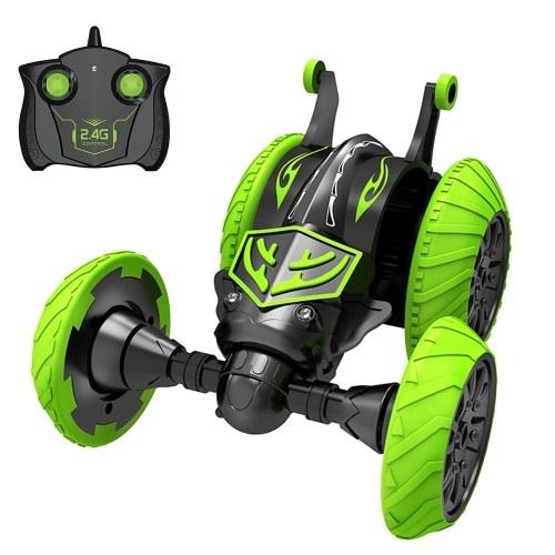 2,4 Ghz RC Stunt Auto 3D Rotierenden Drift Tripper Stunt Auto Klettern Drift Verformung Buggy Auto Flip Kinder Roboter Elektrische Jungen Spielzeug