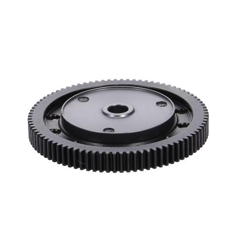 Engranajes de transmisión de caja de cambios de acero endurecido con engranaje de Motor para 1/10 RC Crawler Car Axial SCX10 Pieza de actualización de caja de cambios