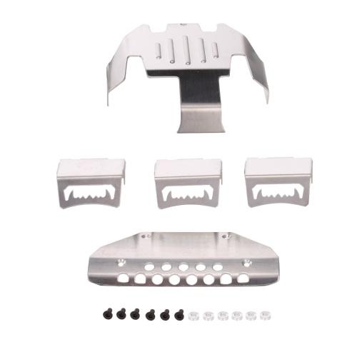 RC Car Metal Chassis Guard Kompatibel mit Traxxas TRX-6