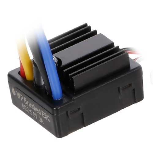 GOOLRC 80A Brushed 2-3S ESC Electric Speed Controller with Programming Card for 1/8 1/10 RC Crawler