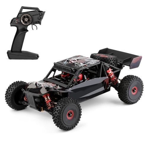 WLtoys 124016 RC Car Off-Road Car High Speed RC Crawler 1/12 2.4GHz Racing Car 75km/h 4WD RTR Metal Chassis