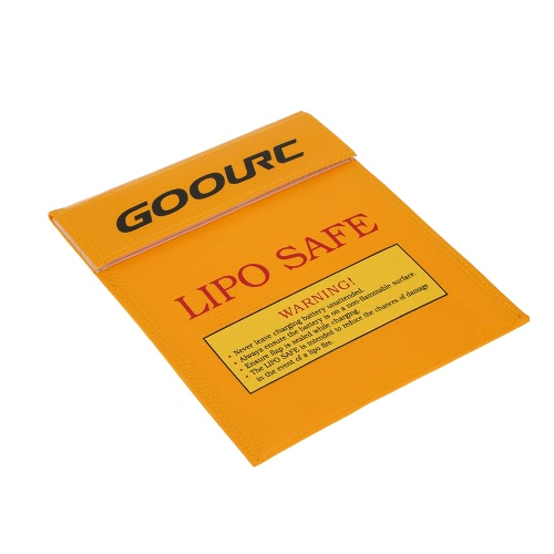 GoolRC 22 * 18cm or haute qualité verre fibre RC LiPo batterie sécurité sac Safe Guard Charge Sack