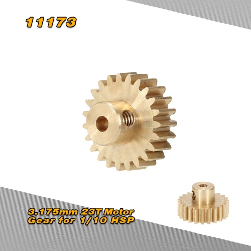 11173 3.175mm 23T Motor Gear for 1/10 HSP 4WD RC Car